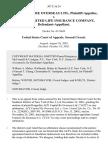 Ace Capital Re Overseas Ltd. v. Central United Life Insurance Company, 307 F.3d 24, 2d Cir. (2002)