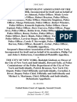 Patrolmen's Benevolent Association of the City of New York, Incorporated for Itself and on Behalf of Its Members, Gary Johnson, Police Officer, Missie Lewis-Manning, Police Officer, Robert Drayton, Police Officer, Marva Gardner, Police Officer, Demetria Singleton, Police Officer, Margo McKenzie Police Officer, Robert Winslow, Police Officer, Kenneth Zepherin, Police Officer, Oscar Espinal, Police Officer, Dave Guevera, Police Officer, Peggy Alves, Police Officer, Robin Irvin, Police Officer, Silas Plunkett, Police Officer, Ronny Forbes, Police Officer, Alton Walker, Police Officer, Barry Hinds, Police Officer, Tselanee Kitching, Police Officer, Laverne Stuger, Police Officer, Michael Butler, Police Officer, Carole P. Sievwright, Police Officer, Inger Barron, Police Officer, Ronald S. Archer, Police Officer, Sergeant's Benevolent Association of the City of New York, Incorporated for Itself and on Behalf of Its Members, Philip Tai and John S. Robertson, Consolidated-Plaintiffs-Appellees