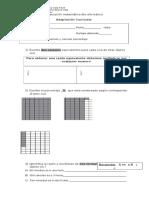Evaluación Matematica Razones y Porcentajes