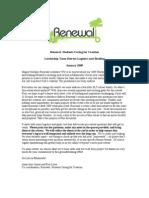Renewal SLT Retreat Logistics and Briefing_2009