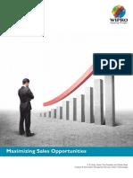 Wipro Analytics Maximizing Sales Opportunities