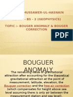 Bouguer Anomaly Mussawer