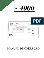 ManualSP-4000Operação