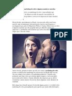 A Verdade Sobre Marketing de Rede e Algumas Mentiras Contadas
