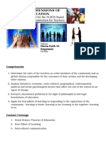 LET REVIEWER Social Dimensions of Education