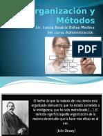 OYM 1 Tecnicas modernas complementarias de Organizacion.pptx