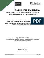 Auditorias de Seguridad en Instalaciones de Combustibles