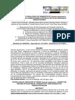 COMPORTAMENTO FISIOLÓGICO DE SEMENTES DE Annona squamosa L. SOB OS TESTES DE CONDUTIVIDADE ELÉTRICA E DO PH DO EXSUDATOFENOLFTALEÍNA