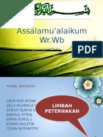 PPT BIOLOGI LIMBAH Kelompok 1 (Rika Nurul l,Sindi,Fitri,Eva,Hesti,Ela,Zian) XI KPE