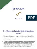 Principio de Sujecion Clase 2