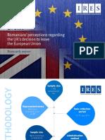 IRES Brexit Romanian Perceptions Graphic Report