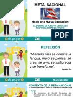 Meta Nacional Inicio de Clases 2016-2017