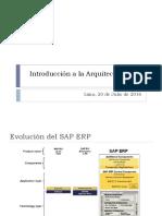 Introduccion a La Arquitectura SAP