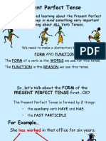 PPT Present Perfect Tense