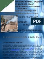Tecnologia de Manejo tecnologia de manejo de residuos solidos industriales de Residuos Solidos Industriales