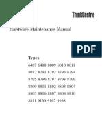 Lenovo M55 Shop Manual