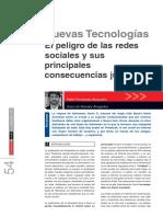 El Peligro de Las Redes Sociales y Sus Principales Consecuencias Jurídicas