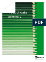 Product Data Summary