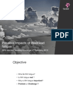 Possible Impacts of Well Head Fatigue_ SPE Stavanger Chapter_ 06 Feb 2013