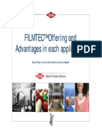 2011_05 FILMTEC™ Offering and Advantages in each application rev