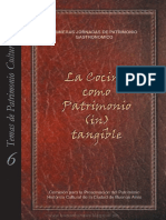 La Cocina Como Patrimonio (in) Tangible.