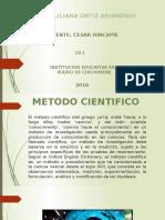 Metodo Cientifico Angie Ortiz