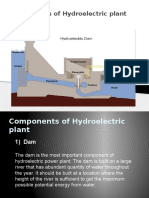 Components of Hydroelectric plant