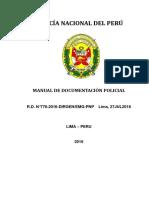 2016 Documentacion Policial PNP
