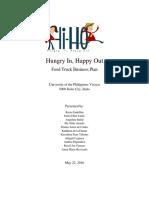 Food Truck Business Plan (Hi-Ho)