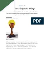 La Urgencia de Parar a Trump 2016-07-26