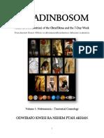 Akradinbosom Nhoma Volume 1 Nokwaresem