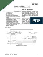 CH7307C Datasheet V1.91