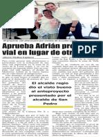 08-08-16 Aprueba Adrián proyecto vial en lugar de otro túnel