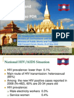 Public Works and Transport and HIV-AIDS in Lao PDR