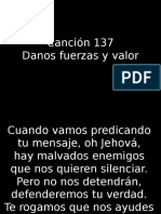 CANCIÓN 137
