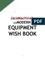 D20 Modern Equipment Wish Book