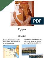 historia del vestuario 9 Egipto
