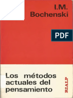 Bochenski J M - Los Metodos Actuales Del Pensamiento.pdf