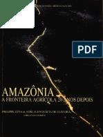 Amazonia e Fronteira 20 Anos Depois