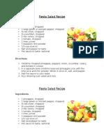 fiesta salad recipe