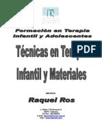 Técnicas en T.G. y Materiales