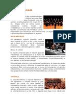Conjuntos Musicales y Teatro