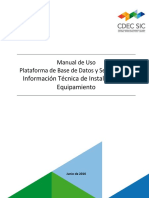 Manual Base de Datos CDEC SIC Junio 20161