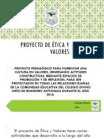 Proyecto de Etica y Valores