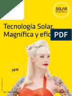 Solar Energy Catalogo 2016