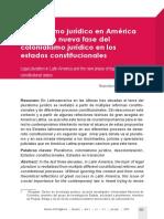 Rosembert Ariza - Pluralismo Jurídico en America Latina