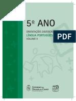 5 Ano Orientacoes Didaticas Lingua Portuguesa Volume II