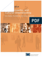 Cultural Value Music Empathy Final Report