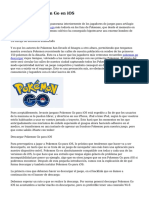 Conseguir Pokemon Go en iOS