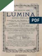 Lumina, 2, Nr. 1 Ianuarie 1904